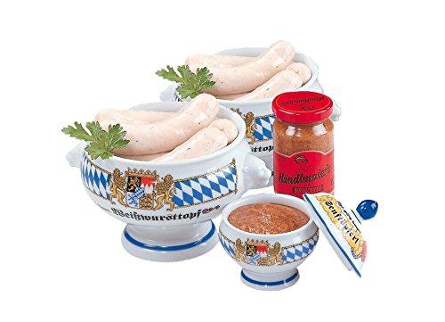 Weißwurstpaket  mit kesselfrischen Weißwürsten 'Münchner Art' und süßem bayerischen Senf...