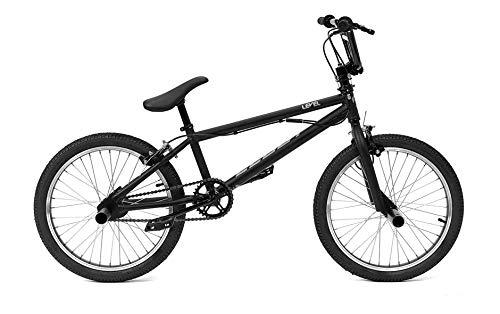 CLOOT Bicicleta BMX-Bici BMX Level con direccion rotativa y 2 reposapies o estribos