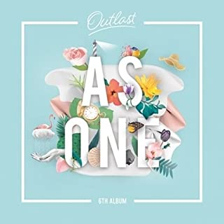 AS ONE - [OUTLAST] 6th Album CD Package K-POP Sealed