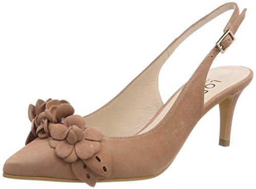 lodi Elodea, Zapatos de Tacón con Punta Cerrada para Mujer, Rosa (Ante Rubor Rubor), 38 EU
