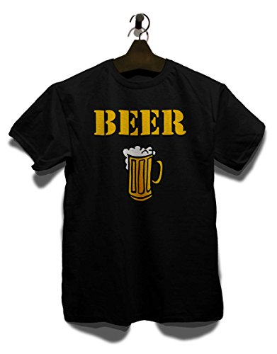 beer-krug-t-shirt-schwarz-black-m