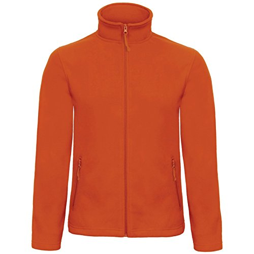 B&C Collection Herren Modern Jacke Pumpkin Orange