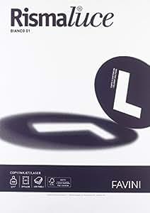 Favini A670113 Carta Rismaluce, A3, 200 G/Mq, 224 µm