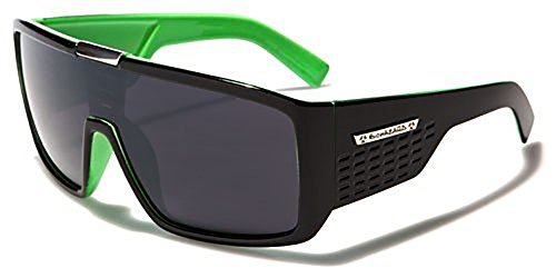 Biohazard Neue Sonnenbrille-Limited Edition Collection UV400(Vault Style Fall enthalten), Grün