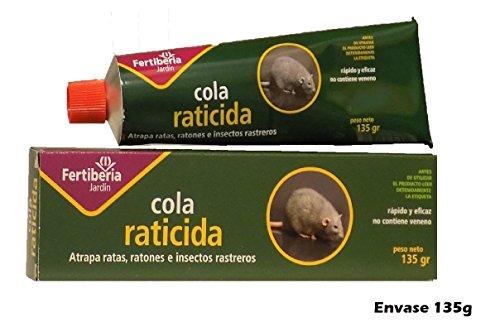 Colle au nom de souris 135 g. au nom de insectes et tout type de rongeurs