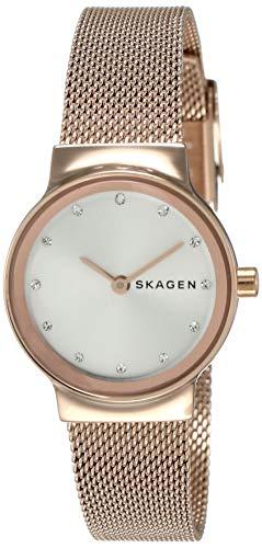 Skagen Femme Analogique Quartz Montre avec Bracelet en Acier Inoxydable SKW2665