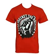 Rage Against The Machine - Red Mic Check T-Shirt