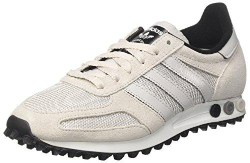 pretty nice cf290 9160c adidas LA Trainer Men, Sneaker a Collo Basso Unisex – Adulto, Grigio, 44