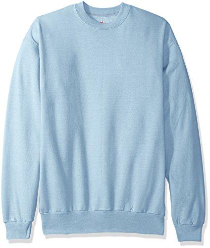 Hanes Herren Fleece-Sweatshirt EcoSmart - blau - XX-Large -