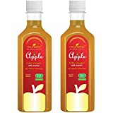 Neuherbs Apple Cider Vinegar with Mother Vinegar, Raw, Unfiltered and Undiluted - 350 ml (pack of 2)