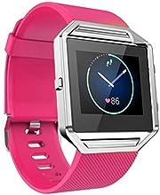 For Fitbit Blaze ,Transer® Correa suave banda reloj de pulsera de silicona para el Fitbit Blaze reloj Smart Watch