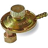 Mondial GB lp060t26–02A Regulador Gas BP rotativo 1kg/h Reductor baja presión Casquillo Vertical 90° calibradas variable 20–60mbar bombona GLP butano propano