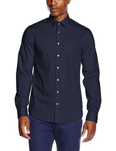Calvin Klein K3ek300077, Chemisier Business Homme Bleu (MIDNIGHT BLUE 463)