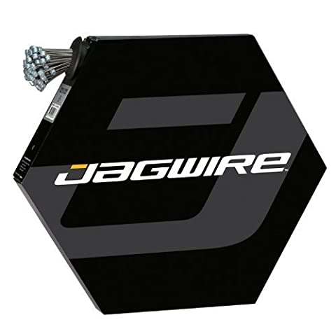 JAG Road Brake Cable, Box of 100, Slick, Galv 1.5 x 1700mm by Jagwire