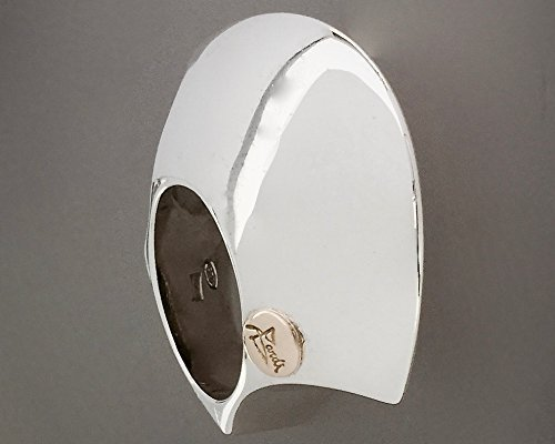 Bardi - Anello in Argento Pure Design con finitura a