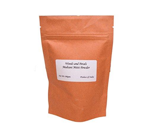 Multani Mitti Powder I Fullers argilla Terra I 100 gms I 3.52 oz I Face Mask I Anti-âge I Pigmentation I Défaut I Peau radiante