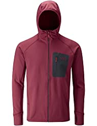 RAB MENS SUPERFLUX HOODY ROCOCCO (X-LARGE)