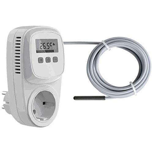 Universal TC500 Steckdosen-Thermostat Digital Thermostat-Regler Raumthermostat