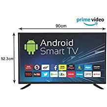 eAirtec 102 cm (40 inches) HD Ready Smart LED TV 40 SMART (Black)