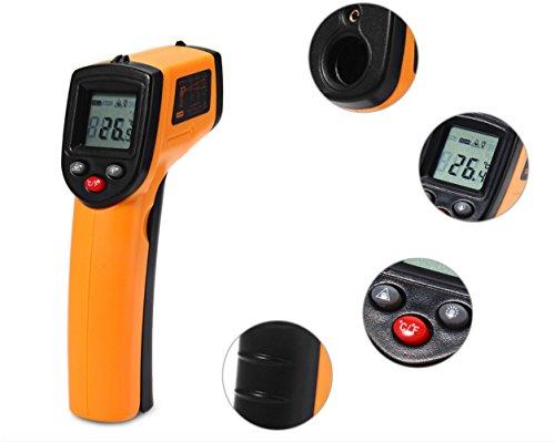 RosyXandy GM320 Laser LCD Digital IR Infrarot Thermometer Professionelle berührungslose Temperatur Meter Gun für Industrie Home Use