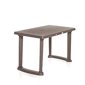 Varmora Plastic Dining Table Relish (Brown)