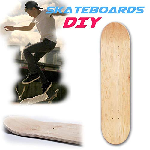 8a537a7d7f Gereton Skateboard Deck 8.0,Control Premium Blank Cruiser Decks 8-Layer  Maple Wood Blank Double Concave Skateboards Cruiser Holz Deck (8inch)