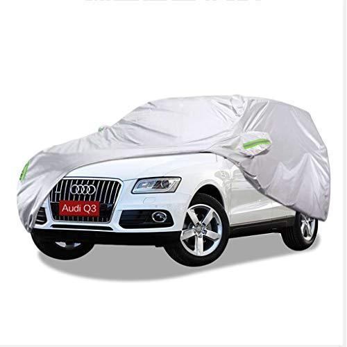SXET-Cubierta de coche Cubierta del coche Audi Q3 Especial Impermeable UV Anti-arañazos Oxford Tela Cubierta de polvo Al aire libre Protección solar Nieve escarcha Cubierta del coche