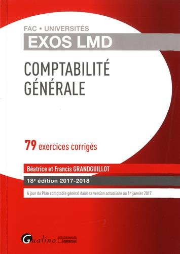 Comptabilité générale : 79 exercices corrigés par