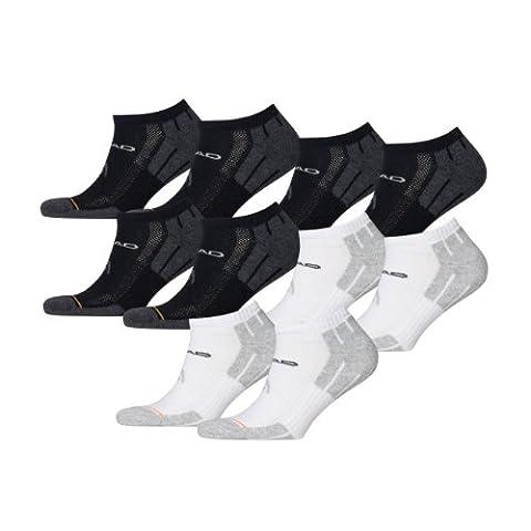 HEAD Unisex Performance Sneaker 741017001 Sportsocken 10er Pack