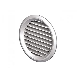 MINI Air Vent Grille Ventilation Cover 7 Colours Ø80mm (3.15) Duct ABS Plastic by APUK