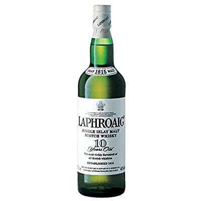 Laphroaig 10 Year Old Single Malt Scotch Whisky 70cl Bottle