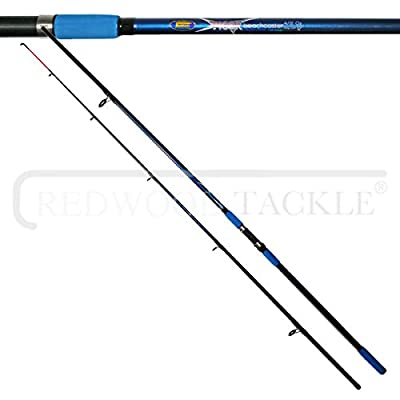 Beachcaster 12ft 4-6oz Rod & Reel + Line Combo from REDWOODTACKLE