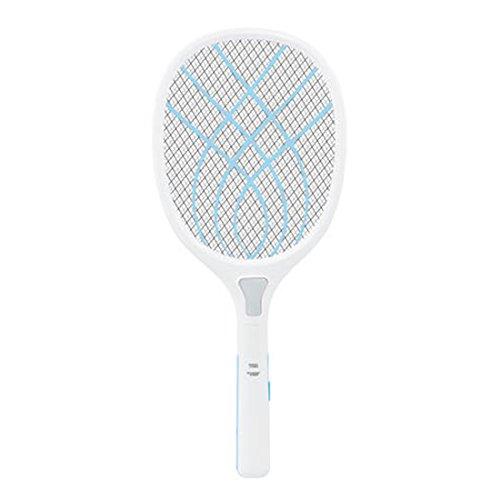 Ovitop Fliegenklatsche Elektrische Aufladbarer Mückenklatsche mit LED-Beleuchtung - See Blau