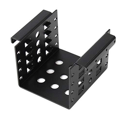 BeonJFx Festplatten-Adapter 6,3 cm auf 8,9 cm Schwarz
