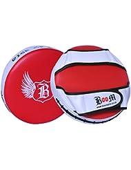 BOOM Pro–Manoplas de boxeo guantes y manoplas para boxeo almohadillas de boxeo UFC MMA Muay Thai (Free UK SHIPPING)