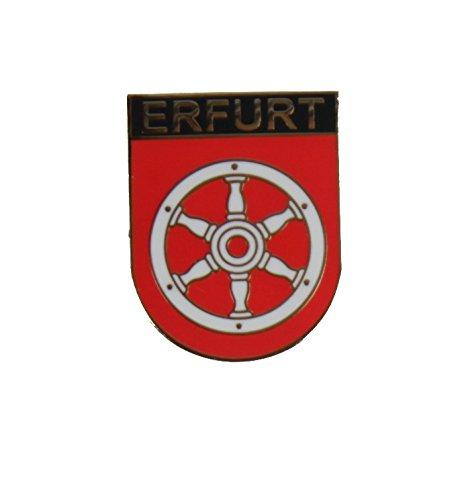 Yantec Wappenpin Erfurt 20mm Pin Anstecknadel
