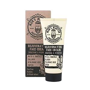 Crema facial rejuvenecedora hidratante antiarrugas para hombre, Sin parabenos, sin colorantes artificiales. Volumen 75…