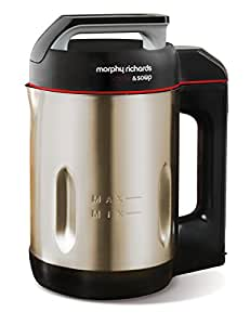 Morphy Richards Saute and Soup Maker 501014  Brushed Stainless Steel Soup Maker