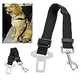 HHY Cintura di Sicurezza Universale per Cani con Ammortizzazione Elastica e Regolabile moschettone Forte, Cintura per Cani Massima Sicurezza per Tutte Le Razze e Gatti per Auto.