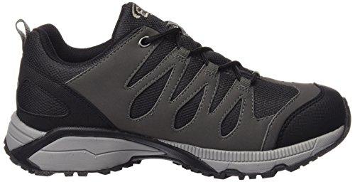 Brütting 191188, Chaussures de Randonnée Basses Homme Noir (Schwarz/Grau)