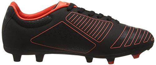 Umbro Ux Accuro Club Hg, Chaussures de Football Entrainement Homme Noir (Ecb/Black/Metallic/Grenadine)