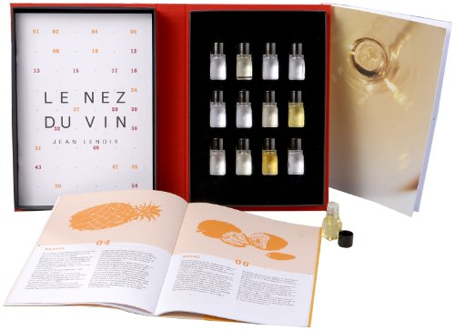Le Nez du Vin : Les Vins Blancs et le Champagne, 12 arômes (en français) (coffret toile)