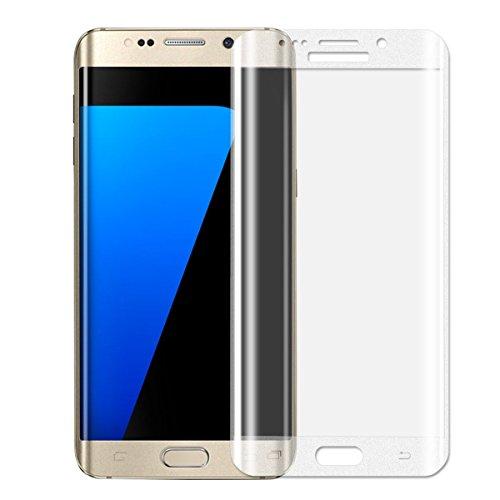 Preisvergleich Produktbild Samsung Galaxy S7 Edge Schutzfolie, Acelive Full Coverage Gehärtetem Glas Panzerglas Displayschutzfolie Folie für Samsung Galaxy S7 Edge(nicht Compatiable mit hülle)