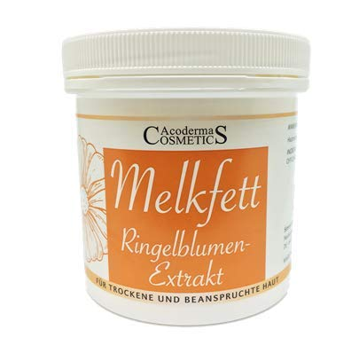 Acoderma Cosmetics Melkfett 250ml mit Ringelblumenextrakt und Vitamin E