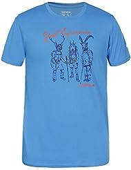 ICEPEAK–Camiseta para hombre solomo, hombre, color Azul - turquesa, tamaño L