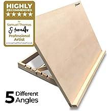 Pablo – A2 höhenverstellbare Tisch-Staffelei aus Holz