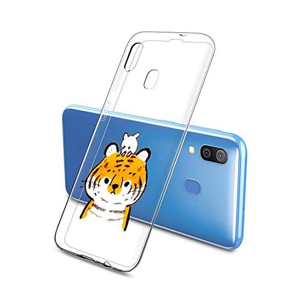 Oihxse Funda Samsung Galaxy C9 Pro, Ultra Delgado Transparente TPU Silicona Case Suave Claro Elegante Creativa Patrón… 1