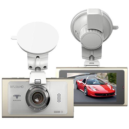 BUIEJDOG Dashcam 2.7″Full HD Autokamera 1080P DVR mit 170°Weitwinkelobjektiv, WDR, Bewegungserkennung, Parkmonitor, Loop-Aufnahme, Nachtsicht und G-Sensor