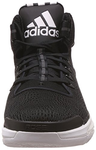 adidas D Rose 6 Boost, Chaussures de Basketball Homme Noir (Core Black/Core Black/Ftwr White)