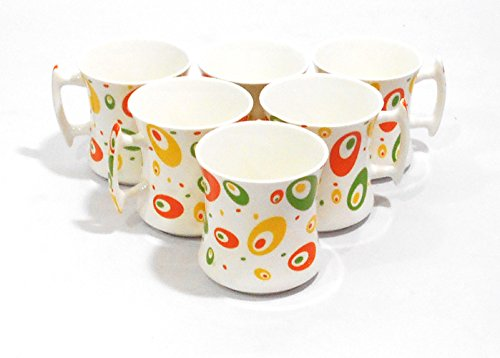 Classique Oval Shape Cosmic Graphic Bone China Mug  available at amazon for Rs.349